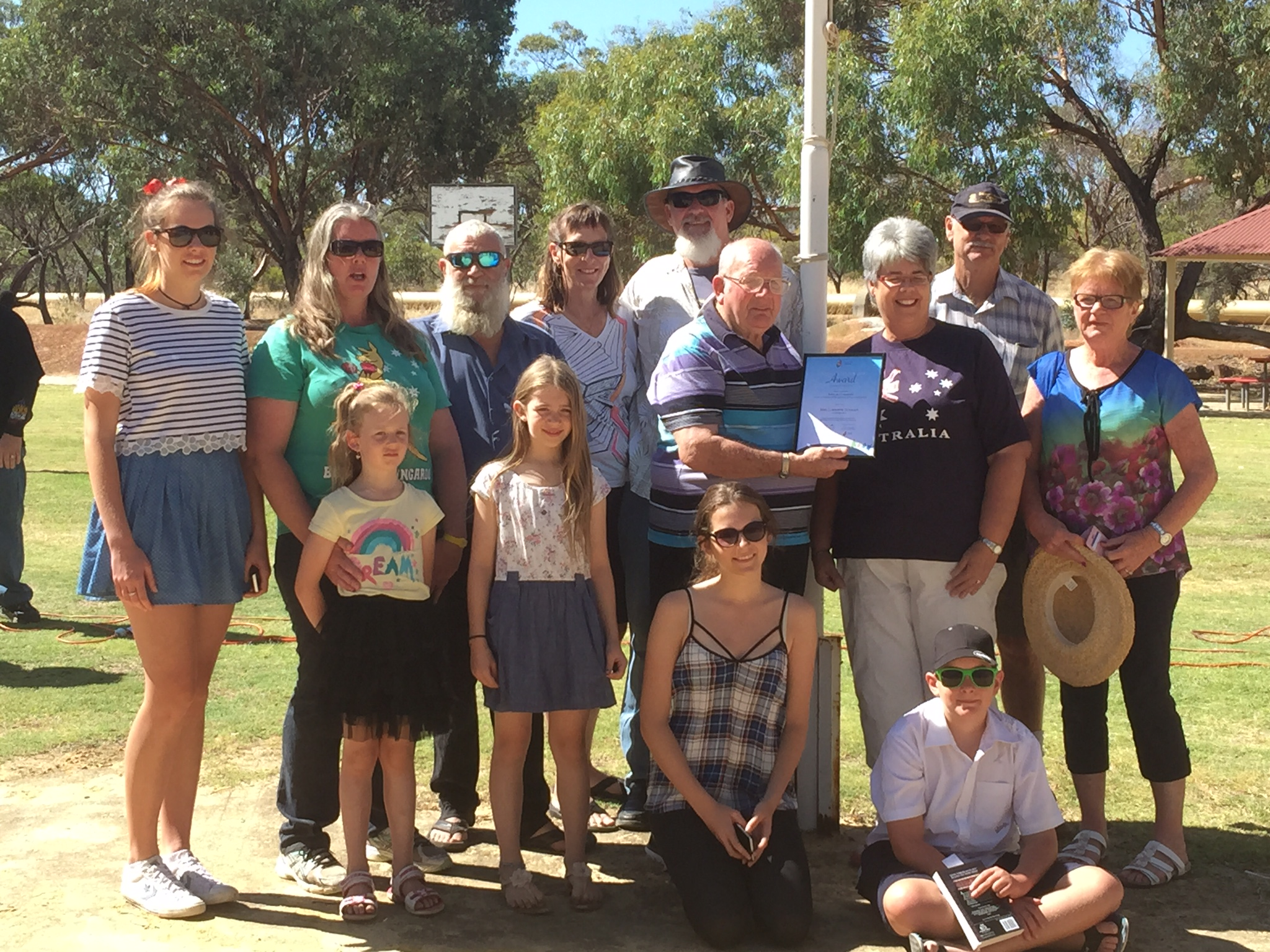 Australia Day in Cunderdin