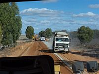 Roadworks in Cunderdin