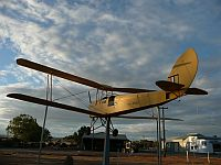 WW I plane at Cunderdin Airfield